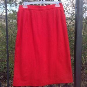 COPY - Royal Studio 100% pure wool red pencil ski…